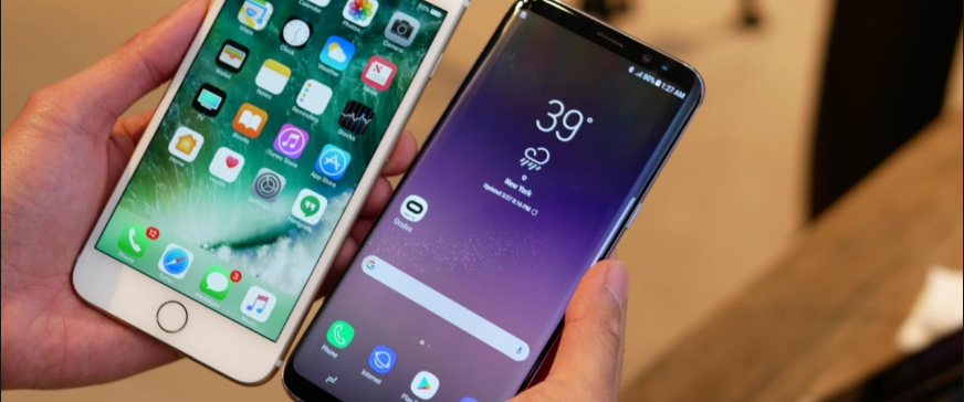 Samsung Galaxy S8 vs iPhone 7